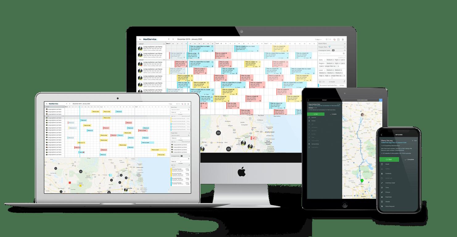 NextService a platform for field service.