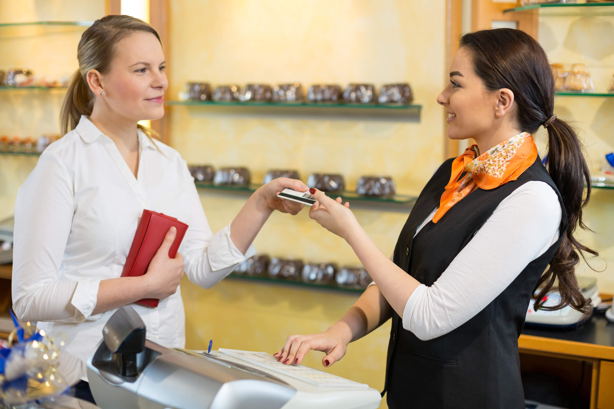 A business accepts POS transaction with a Shopify to NetSuite integration.